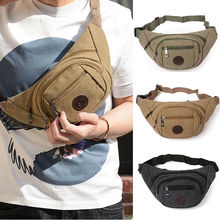 Unisex Women Men Waist Bag Outdoor Travel Bum Bag for Running Hiking Casual Sport Bag Zipper Pouch Packs striped design zipper front bum bag