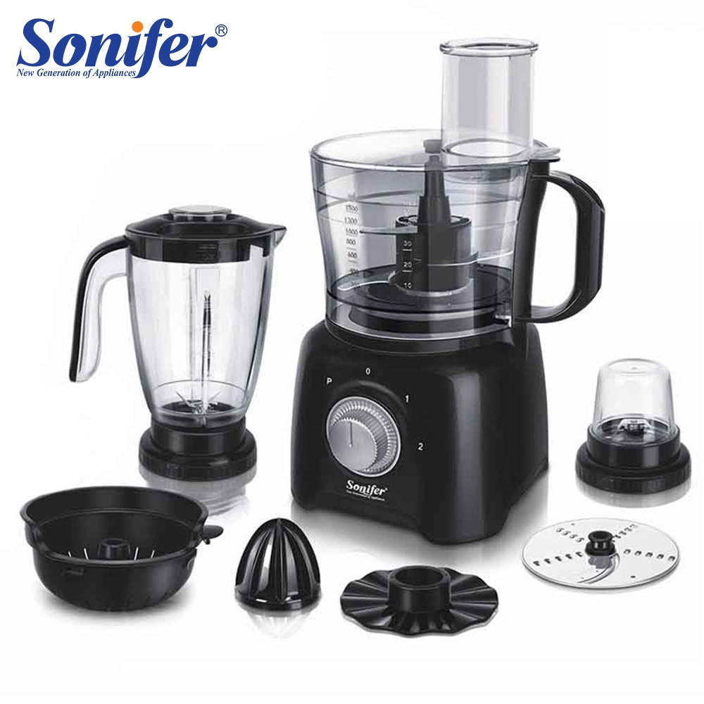 8 dans 1 Multifonction électrique alimentaire mélangeur mélangeur cuisine mélangeur à main batteur à oeufs légumes Hachoir À Viande stand mélange Sonifer