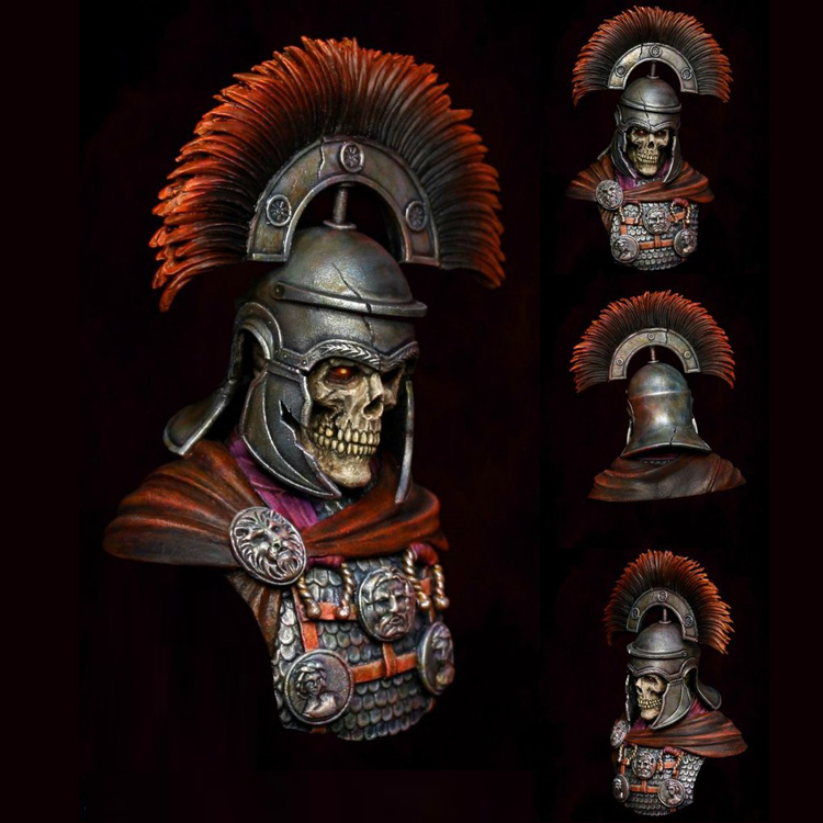 1/9 Resin bust model kit Ancient science fiction centurion Unpainted and  unassembled X190G1/9 Resin bust model kit Ancient science fiction centurion Unpainted and  unassembled X190G