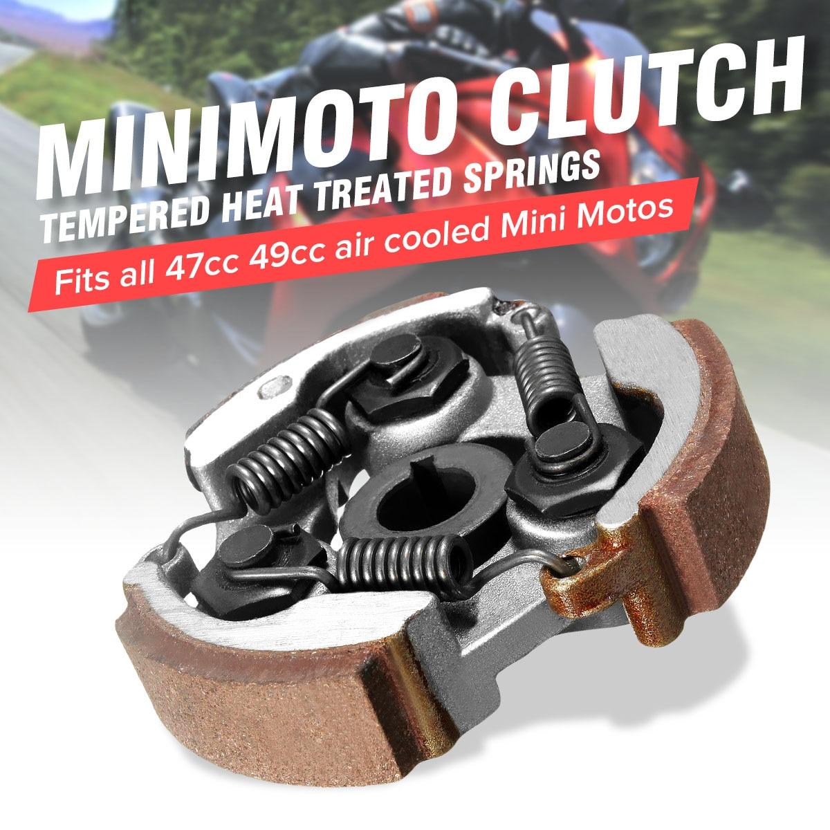 2 course 47cc 49cc Mini moto Embrayage Centrifuge alliage Mini moto Dirt Bike Atv Quad 3 Chaussures Printemps