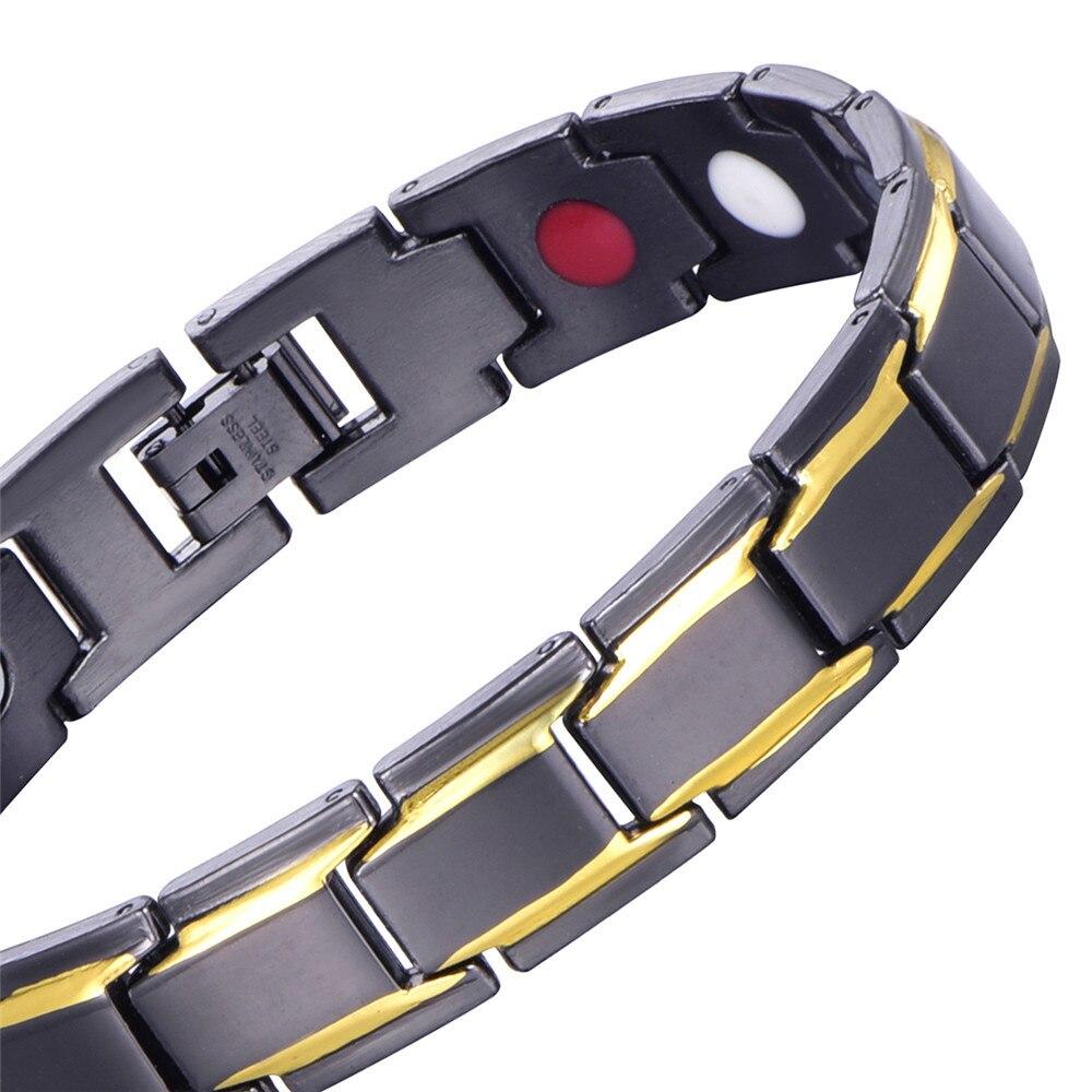 2018 Fashion Men Women's A Bracelet Jewelry 13mm Width Silver Gold Stainless Steel Bracelets Bangles For Friends Gift