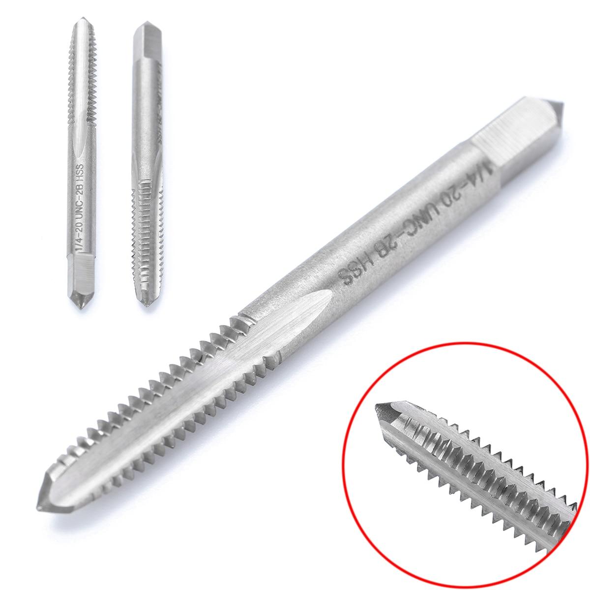 1pc HSS Machine 1 1//4-20 UN Plug Tap and 1pc 1 1//4-20 UN Die Threading Tool