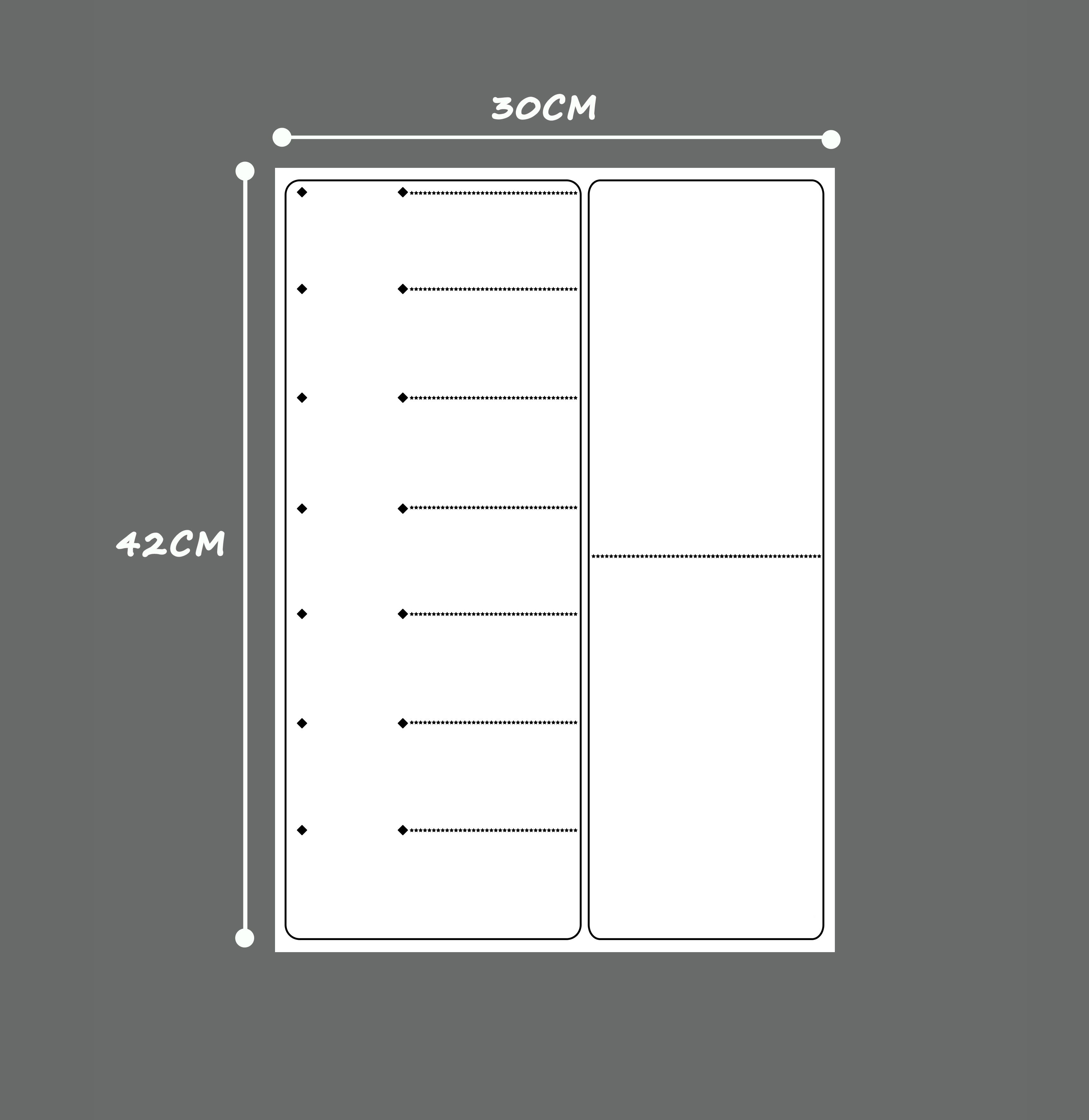 Image 3 - Magnetic A3 Planner Board SET for Kitchen Fridge Large Dry Erase Calendar Organizer To Do List Notepad Weekly Planner WhiteboardWhiteboard   -