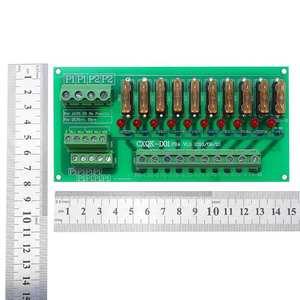 Image 2 - Блок питания с 10 позициями на DIN рейку, 5 32 в перем. Тока/постоянного тока