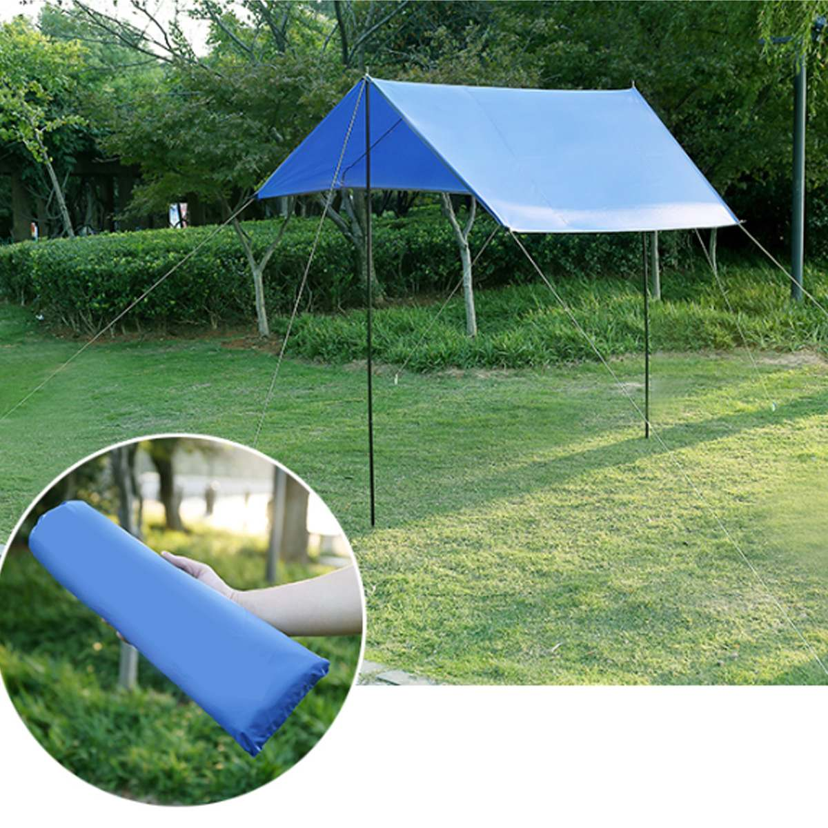 ALI shop ...  ... 33010964848 ... 3 ... Waterproof Tent Shade Beach Sun Shelter Tarp Ultralight UV Garden Awning Canopy Sunshade Outdoor Camping Hammock Rain Fly ...