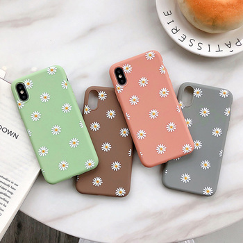 Moskado Floral TPU iPhone Case
