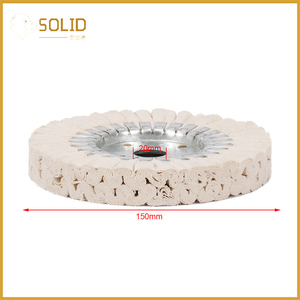 Image 5 - 6 inch Cotton Airway Buffing Cloth Wheel Polishing Pad 20mm Bore for a Mirror Finish on Aluminum And Stainless Polishing Tool