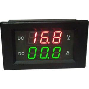 Image 2 - DC 0 300V 20A Shunt Dual display LED Digital Voltmeter Ammeter volt 12V 24V car