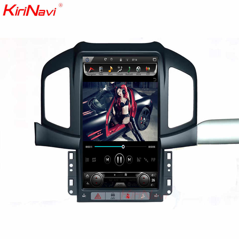 "KiriNavi 13.6 ""Android 7.1 Auto Radio GPS Navigatie Voor Chevrolet Captiva Android Auto Dvd-speler Automotivo Head Unit 2013 -2017"