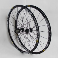 MTB набор колес для горного велосипеда ЧПУ Алюминиевый сплав подшипник качения Центральный замок шесть отверстий 26 27,5 29er комплект велосипед