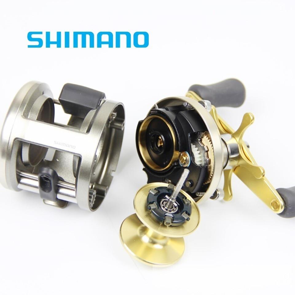 648e0a7543e Shimano Original Cardiff 200A 201A 300A 301A 400A 401A Round Baitcasting  Fishing Reel 4+1BB. sku: 32951407333