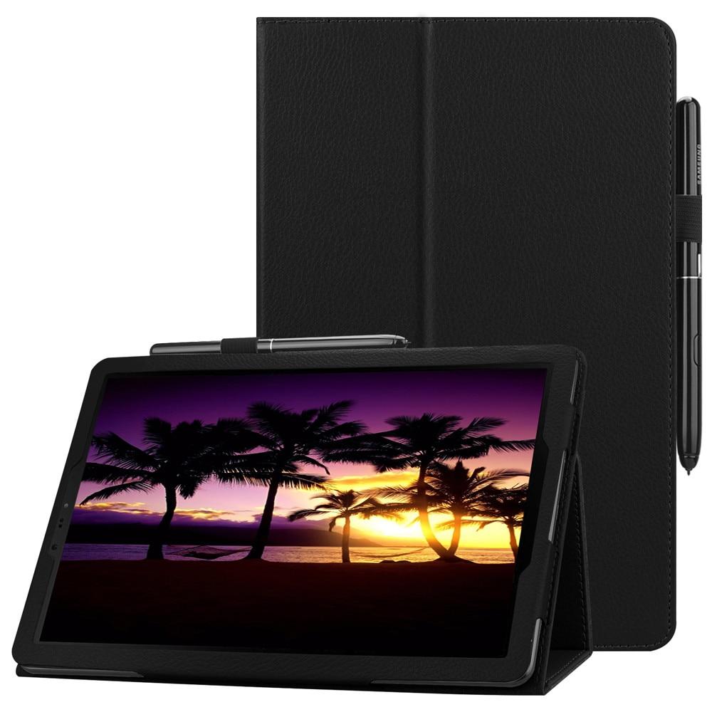 Для Samsung Galaxy Tab S4 9. 0 T830 T835 T837 SM-835 чехол для планшета из искусственной кожи с подставкой и стилусом