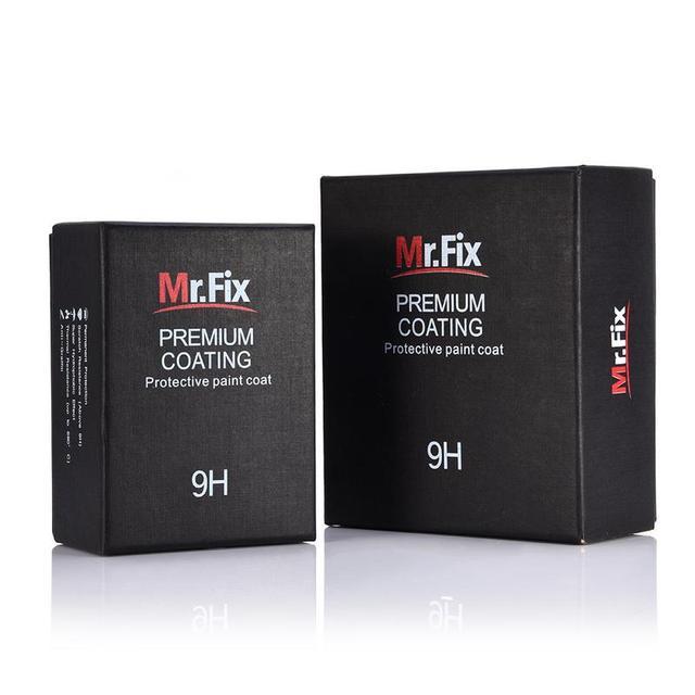 Mr. Fix 30ML 50ML Aggiornato 9H di Ceramica del Cappotto Dellautomobile di Liquido Smalto di Cristallo Set Ad Alta Densità Super Car rivestimento di Vetro idrofobo