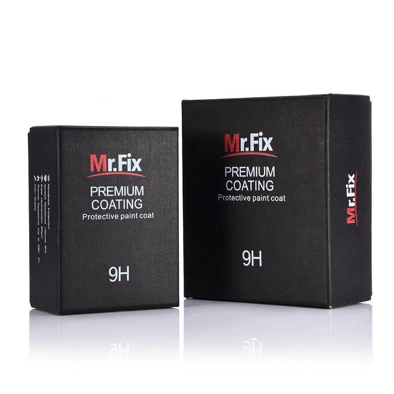 Керамическое покрытие Mr. Fix для автомобиля, жидкость для полировки автомобиля 9H, 30 мл 50 мл, гидрофобное стекло высокой плотности