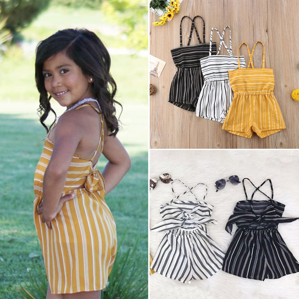 a85fc983cd35 Pudcoco Girl Clothes Summer Toddler Kids Baby Girls Off Shoulder Rompers  Jumpsuits Playsuit Shorts-in Clothing Sets from Mother   Kids on  Aliexpress.com ...