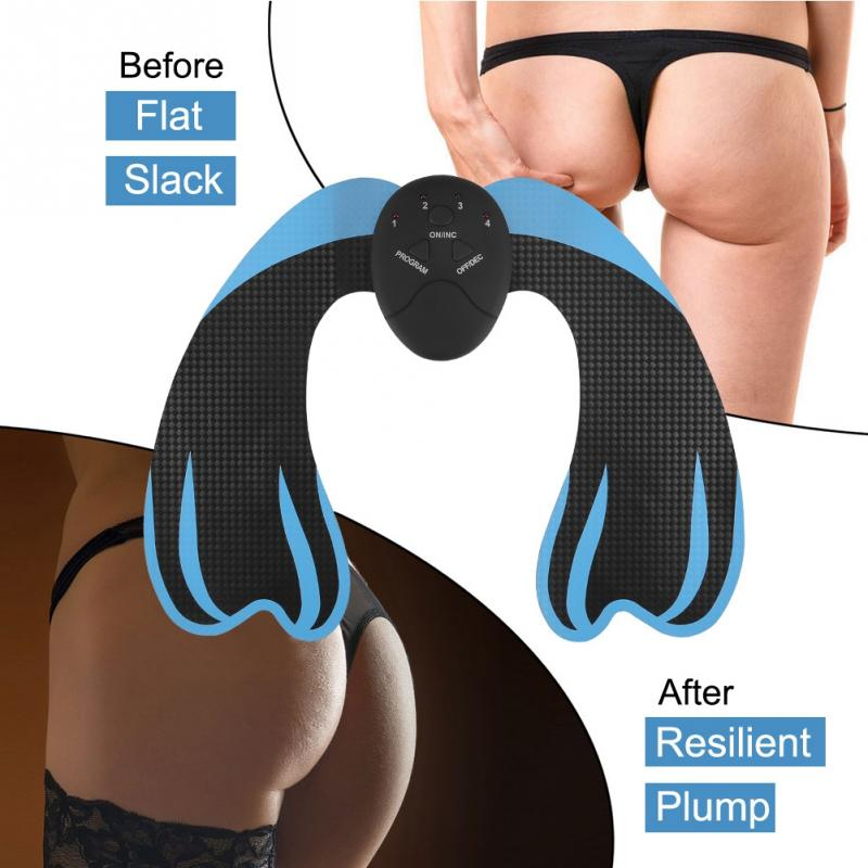 EMS Hip Trainer Electric Muscle Vibrating Anti Cellulite Home Fitness Workout Massage Pad body Relax massager Health Care ems hips trainer