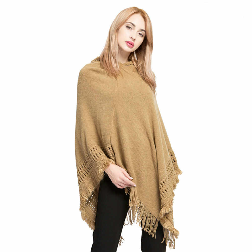 b4a08a7cbcb40 ... Mongolian Pure Merino Wool Women Winter Scarf Wraps Shawl Solid Cape  Poncho Casual Lady Wearing Autumn ...