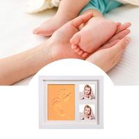 Photo Frame Handprint Mud Suit Baby Gift Hand And Foot Mold Hand And Foot Ink Pad