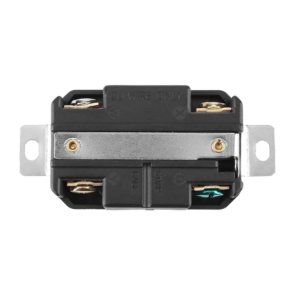 NEMA  L14-20R 20A 125V//250V Twist Locking Electrical Plug Female Wall Receptacle