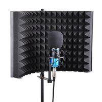 Студийный микрофон изоляционный щит акустическая запись звукопоглощающее устройство пенопластовая панель Звукоизоляционная пена панель ...