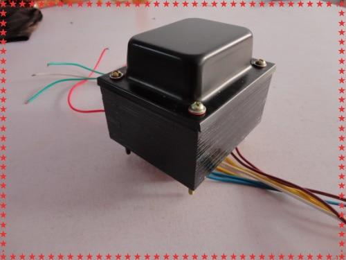 6P3P EL34 vacuum tube audio power amplifier 150W transformer output 320V 0 320V 0 6 3V