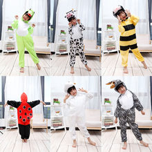 3452ee8679 Costume di Halloween per I Bambini Tute monopezzo per Adulti Ragazze Bella  Mucca Capra Zebra Della Tuta Delle Donne di Inverno P..