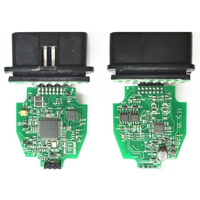 Newest V2.3.8 ELS27 FORScan Green PCB PIC24HJ128GP+FTDI Mircochip Multi-Language Works ELM327&J2534 Pss-Thru For FORD/Mazda