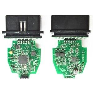 Image 4 - V2.3.8 ELS27 FORScan зеленая печатная плата PIC24HJ128GP + FTDI микрочип Многоязычная работает ELM327 & J2534 Pss Thru для Mazda
