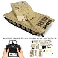 Heng Long 3908 1 1/16 2,4 г курить Британский Challenger 2II RC автомобиль боевой танк пластмассовые игрушечные модели открытый игрушки для детей 2019 Новинка
