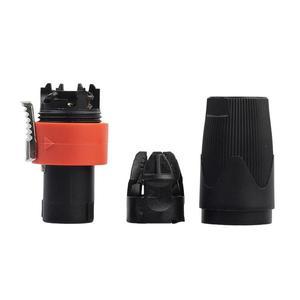 Image 3 - Connecteur de câble Audio mâle 4 pôles 10 pièces pour câble NEUTRIK/NL4FC/NL4FX/NLT4X amplificateur de haut parleur de scène prise Ohmic universelle