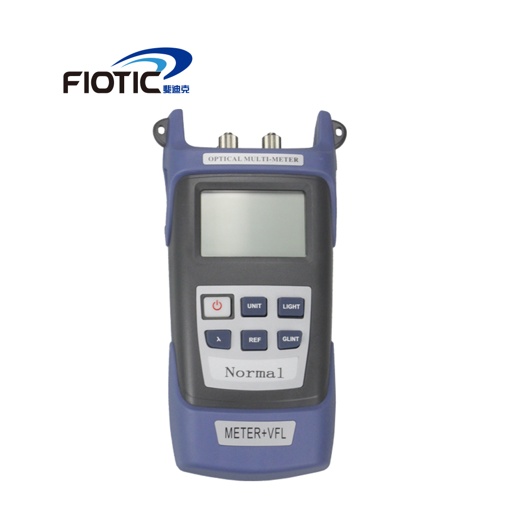 Ftth High Precision All-in-one Handheld Fiber Optical Power Meter -70+3 DBm  Free Shipping Laser Source Visual Fau 5MW 10MW 10KM