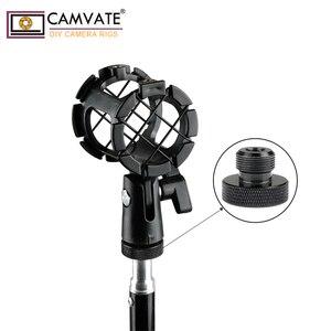"Image 5 - 2 шт., винт для микрофона CAMVATE 1/4 "" 20 Female To 5/8"" 27 Male C1959"