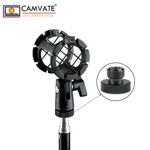"""Image 5 - Camvate 1/4 """" 20 Female Naar 5/8"""" 27 Mannelijke Microfoon Schroef 2 Stuks C1959"""