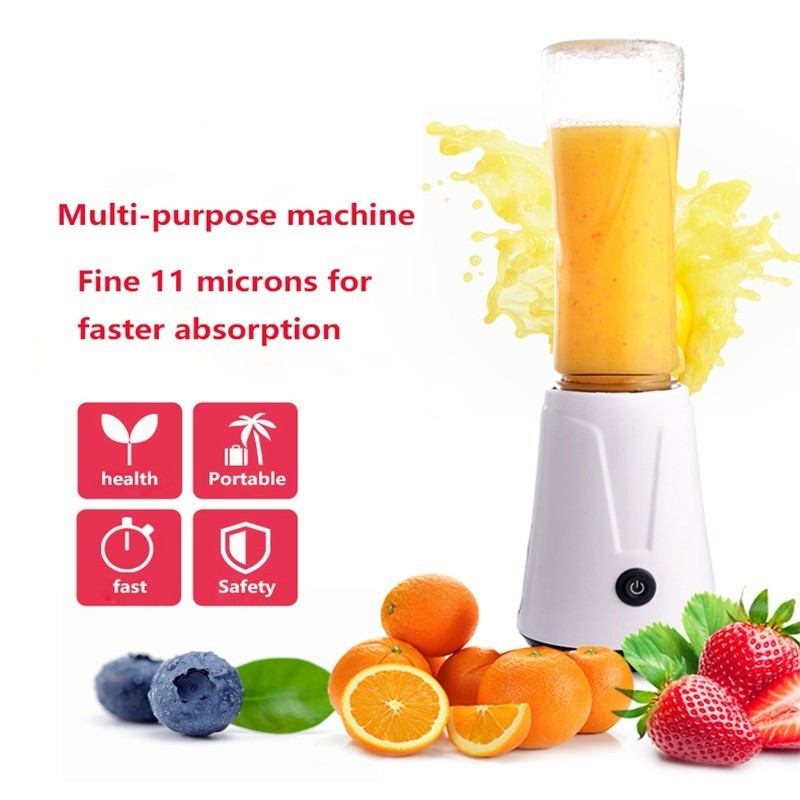 600ML Portable Electric Juicer Blender Fruit Baby Food Milkshake Mixer Meat Grinder Multifunction Juice Maker Machine цены онлайн