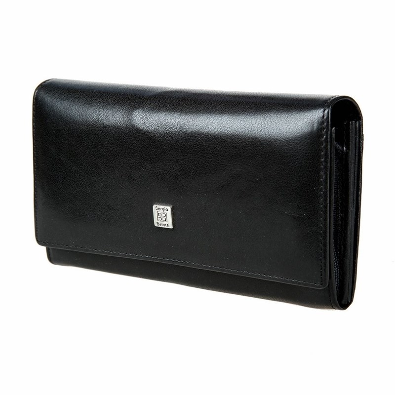 Wallets SergioBelotti 1827 west black цена 2017