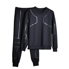 Spring 2019 Tracksuit Men New Brand Tactical Chandal Hombre Boys Long Sleeves Men's Fitness Set Meski Tracksuit For Men Clothing(China)