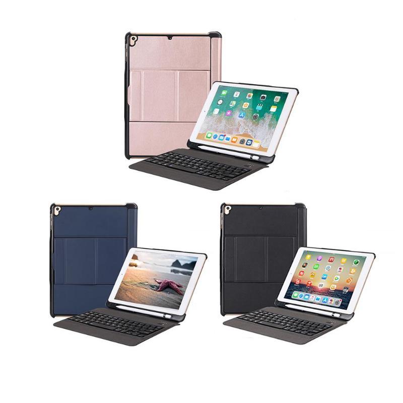 Sans fil Bluetooth Clavier avec Rétro-Éclairé De Protection Clavier Cas Tablet Couverture pour iPad Air 1/2/Pro 9.7/ pro 9.7 2017/2018