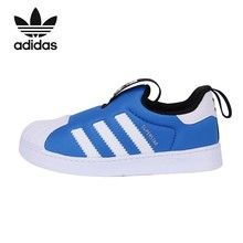 цена на ADIDAS SUPERSTAR Kids Shoes Original Running Shoes Children Comfortable Sports Anti-slippery Sneakers #DB1985