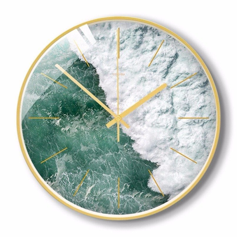 New 3D Wall Clock Quartz Silent Scanning Clocks Large Size Simple 30cm/35cm Wall Clock Modern Design For Living Room Home Decor