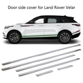 Для Land Rover Range Rover Velar 2017 2018 дверь боковая линия крышка литья хромированная отделка 6 шт
