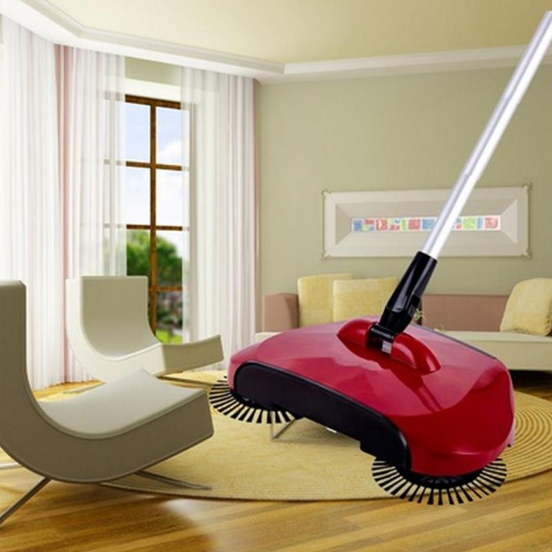 Mop Broom 360 Rotary Home Use Magic Manual Telescopic Floor Dust Sweeper With adjustable handle