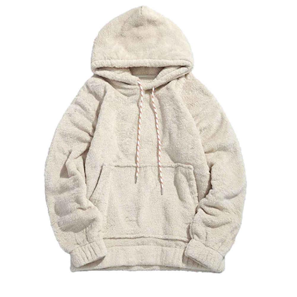 Womens Mens Oversized Long Sleeve Hoody Hooded Sweatshirt Casual Hoodies Top