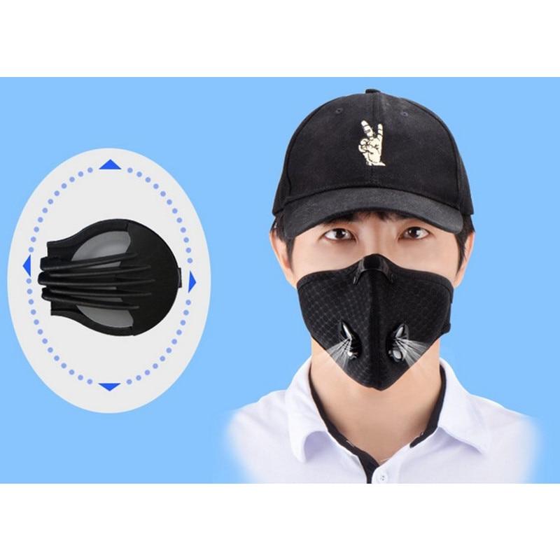 Damen-accessoires Masken 5 Pcs Lot Aktivkohle Anti-smog Staub-proof Kn95 Atemschutz Schutz Maske Einweg Atemschutz Maske