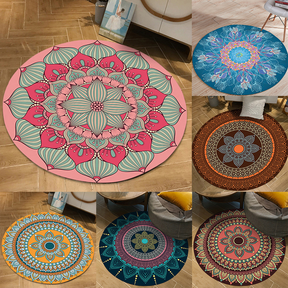 Persian Rugs Area Rug Vintage Rugs Well Woven Persia Collection Vintage Circular Traditional Area Rug  Various Pattern Dropship