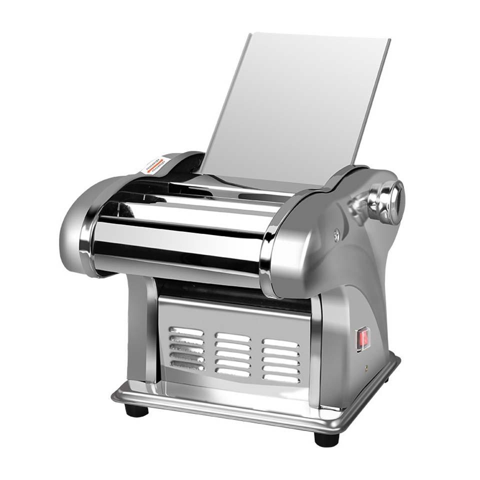 Machine électrique de presse de nouilles petit fabricant Commercial de pâtes en acier inoxydable coupe-pâte boulettes nouilles à rouleaux pour un usage domestique