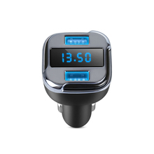 2 in 1 Dual USB Car Charger Mini GPS Mobile App Tracking Car GPS Tracker Locator Real Time Tracking Device Detector Voltmeter