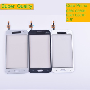 50Pcs/lot For Samsung Galaxy Core Prime G360 G360H G361 G361F G361H Touch Screen Panel Sensor Digitizer Front Glass Touchscreen