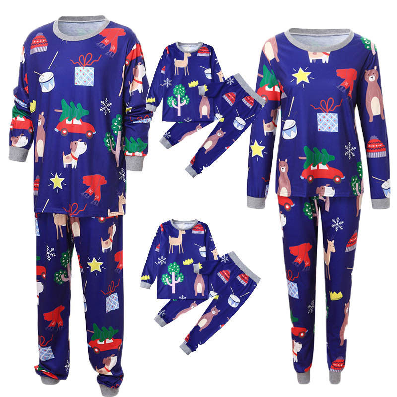 Emmababy Christmas Family Matching Pajamas Outfits Set 2018 Leisure Comfort Women Men Kid Sleepwear Nightwear Clothing Drop Ship Good Companions For Children As Well As Adults