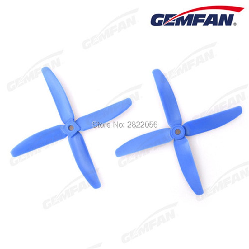 7 colors <font><b>5040</b></font> 5.0x4.0 FPV Nylon glass fiber <font><b>4</b></font> propeller Prop <font><b>Blade</b></font> CW CCW shaft through the machine more special motor 1806-2205 image