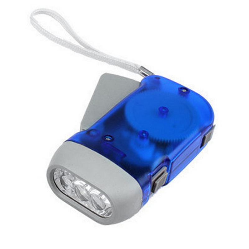 Hand-press LED Flashlight Lantern Dynamo Mini Flashlight LED Emergency Home Dynamo Torch Lamp Self-charging Hand Light